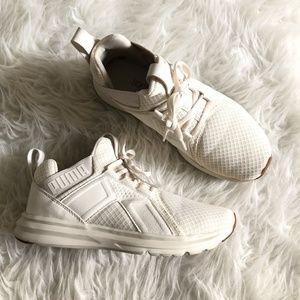 Puma 8.5 Enzo Premium Mesh Sneaker Whisper White